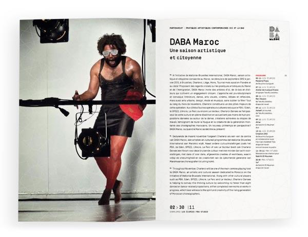 Charleroi Danses <em>Brochure 2012-2013</em>