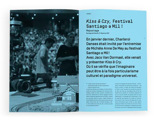Charleroi Danses<em> &#8211; Brochure 2012</em>