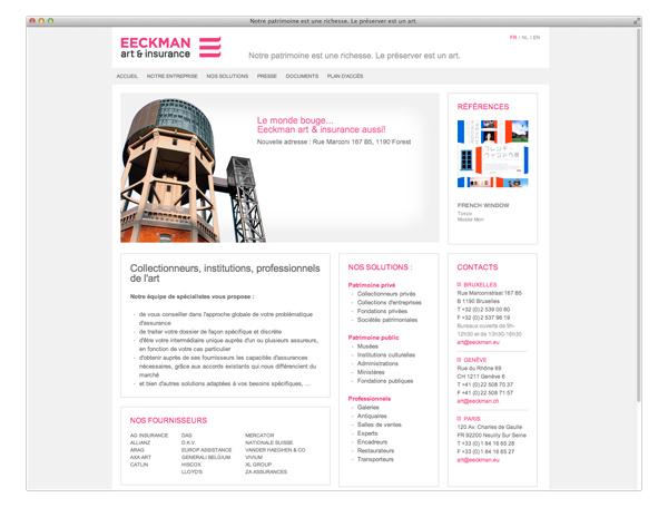 Eeckman <em>website</em>