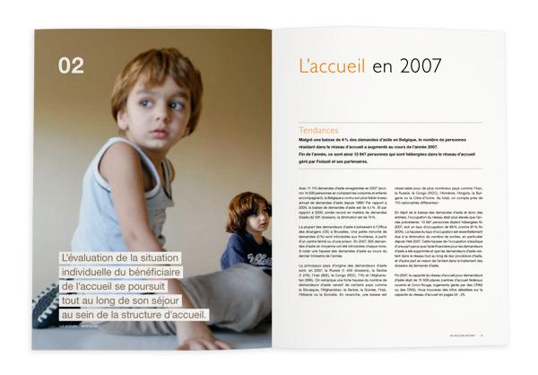 Fedasil <em>&#8211; Rapport annuel 2007</em>