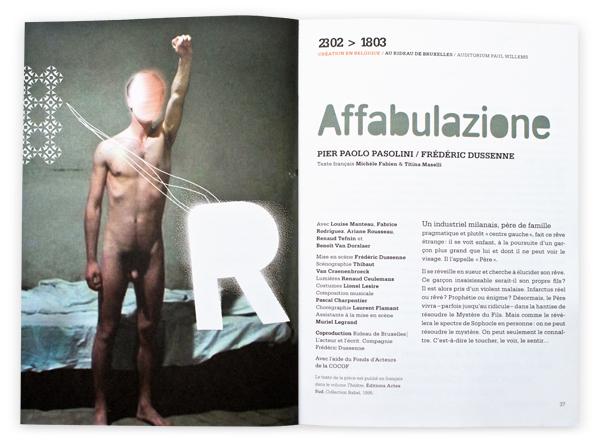 Rideau de Bruxelles <em> Brochure 2009-2010 </em>
