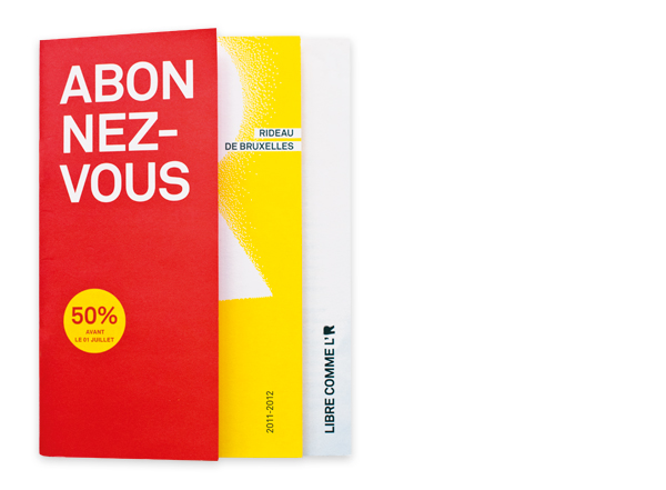 Rideau de Bruxelles <em> Brochure 2011-2012 </em>