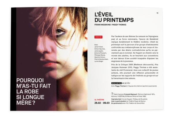 Rideau de Bruxelles <em> Brochure 2012-2013 </em>