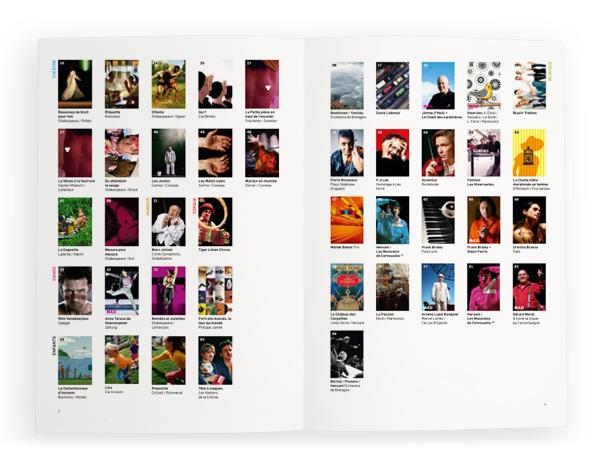 Théâtre de Cornouaille<em> &#8211; brochure 2008-2009</em>