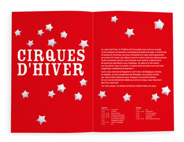 Théatre de Cornouaille<em> &#8211; Brochure saison 2011-2012</em>