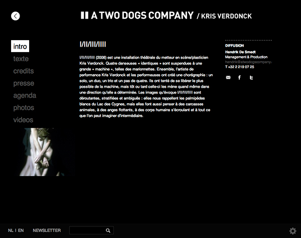 A Two Dogs Company <em> &#8211; website </em>