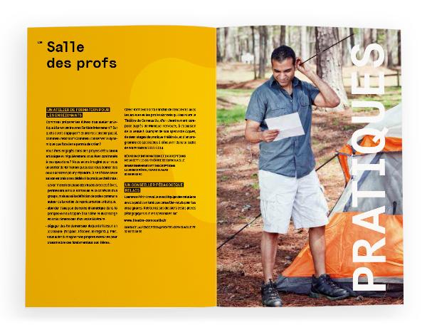 Théâtre de Cornouaille <em> &#8211; brochure 2013 &#8211; 2014 </em>