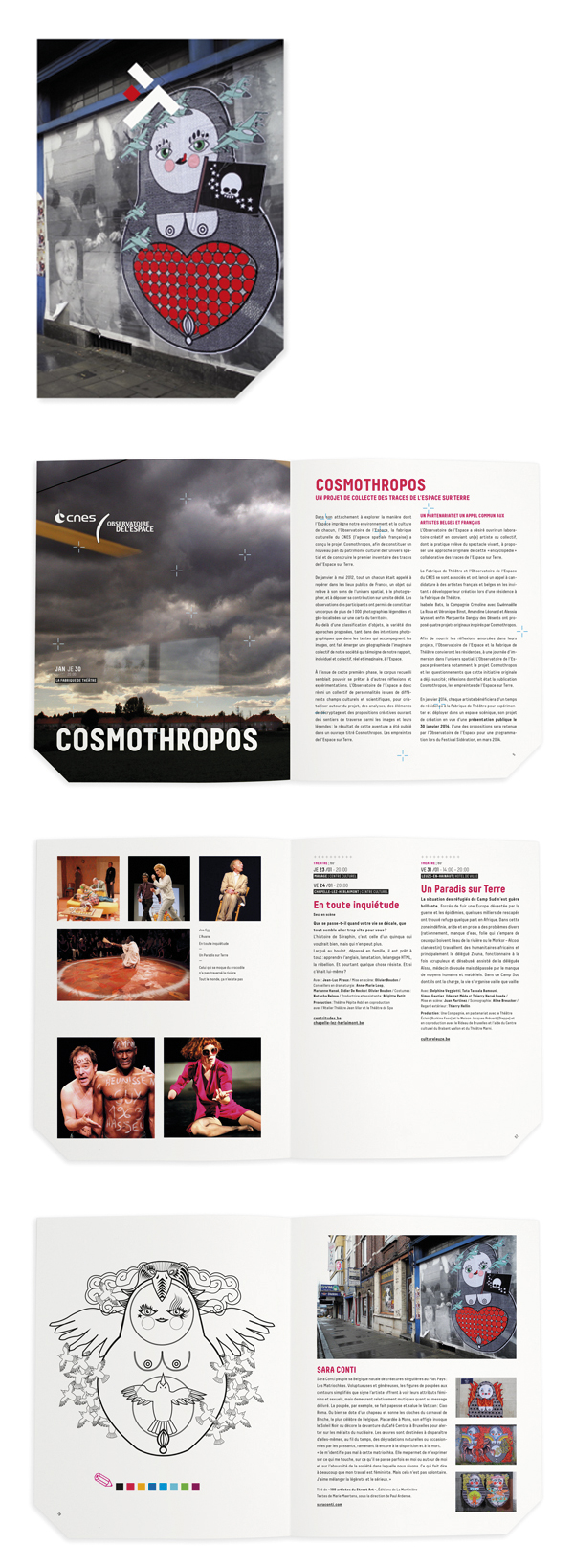 La Fabrique de Théâtre <em> – brochure 2014 </em>