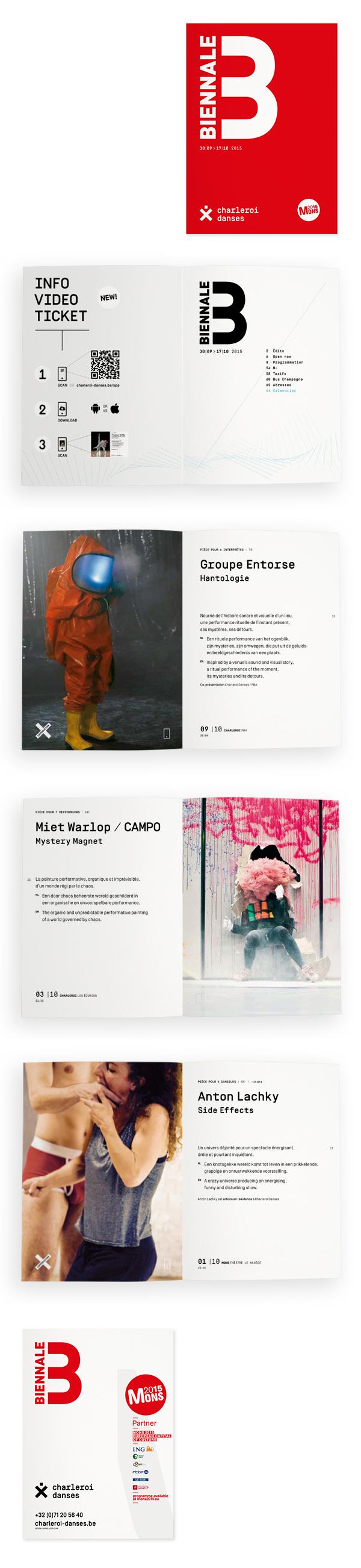 Charleroi Danses <em> — Brochure Biennale 2015 </em>