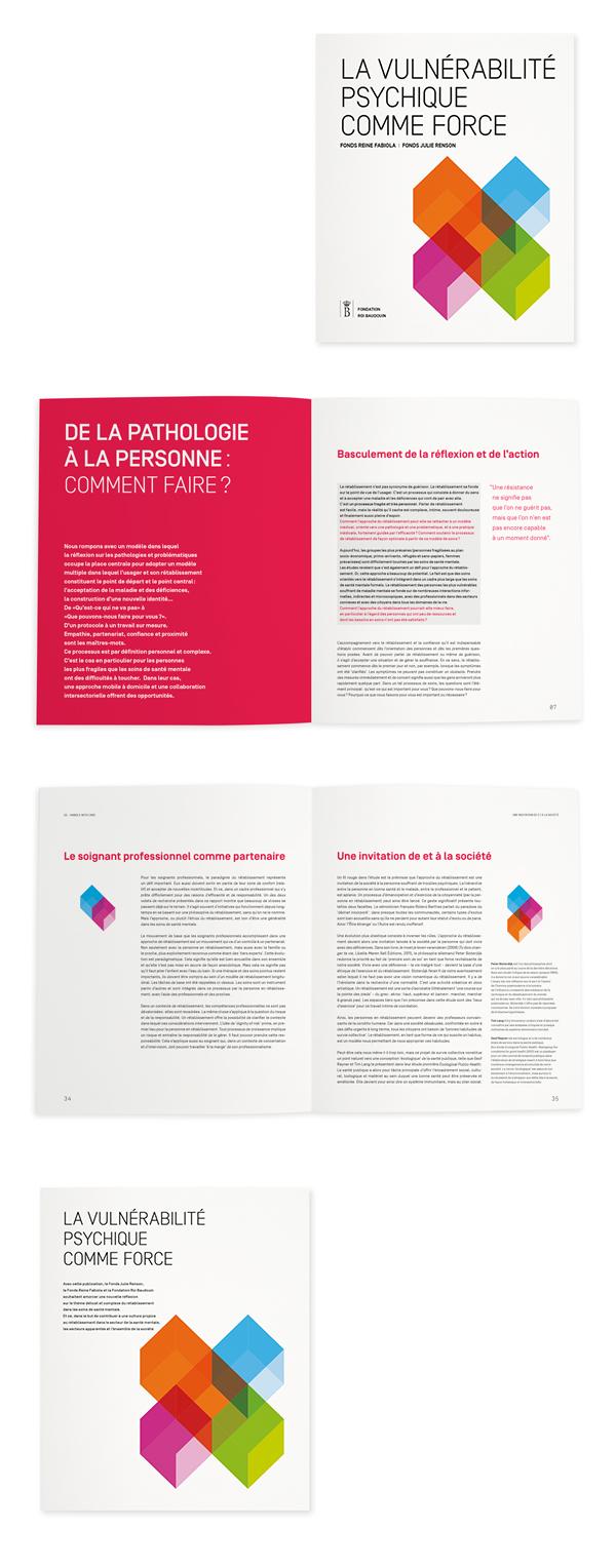 Fondation Roi Baudouin <em> — Brochure La vulnérabilité psychique comme force </em>