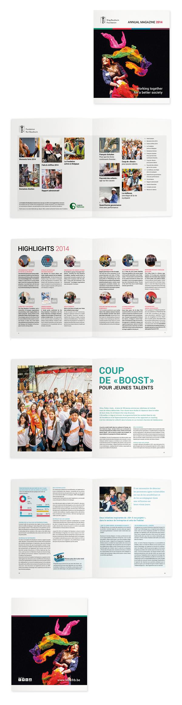 Fondation Roi Baudouin <em> — Rapport Annuel 2014 </em>