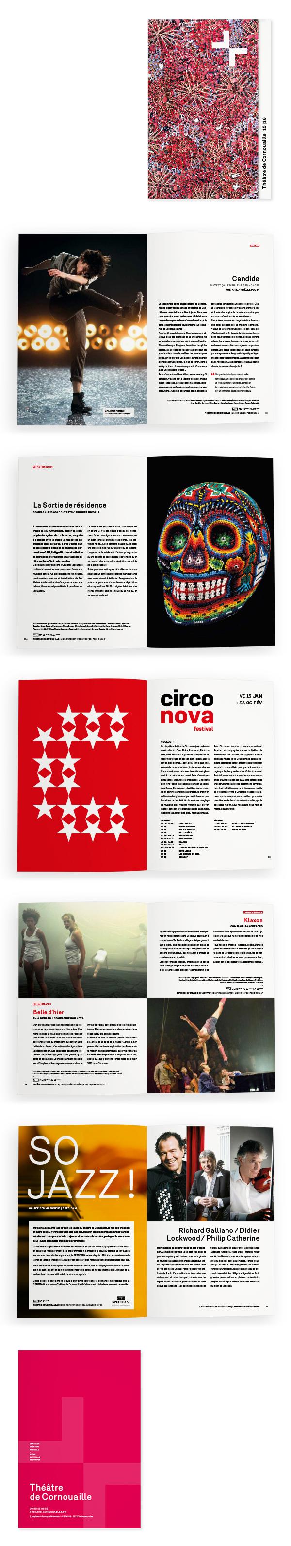 Théâtre de Cornouaille <em> — Brochure Saison 2014 &#8211; 2015 </em>