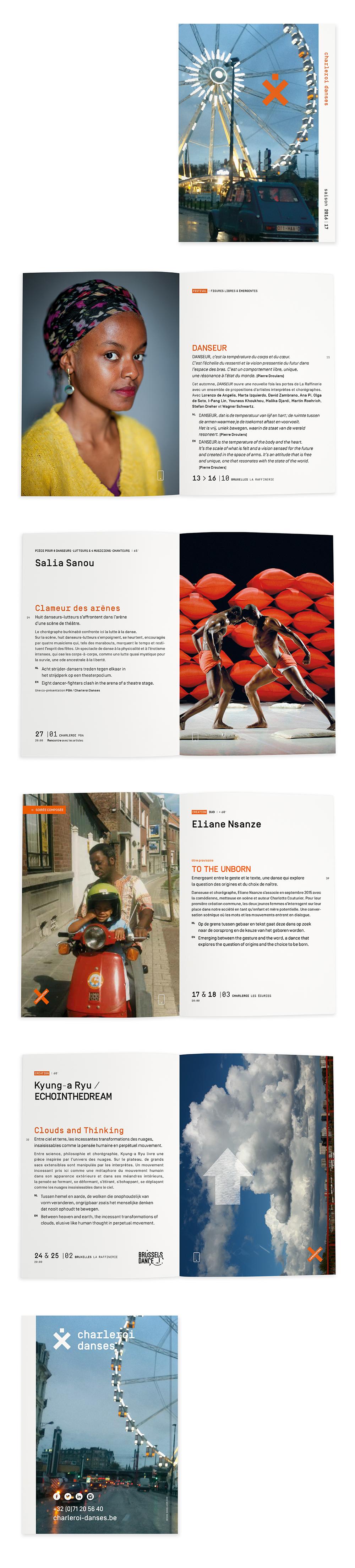 Charleroi Danses <em> — Brochure Saison 2016-2017</em>
