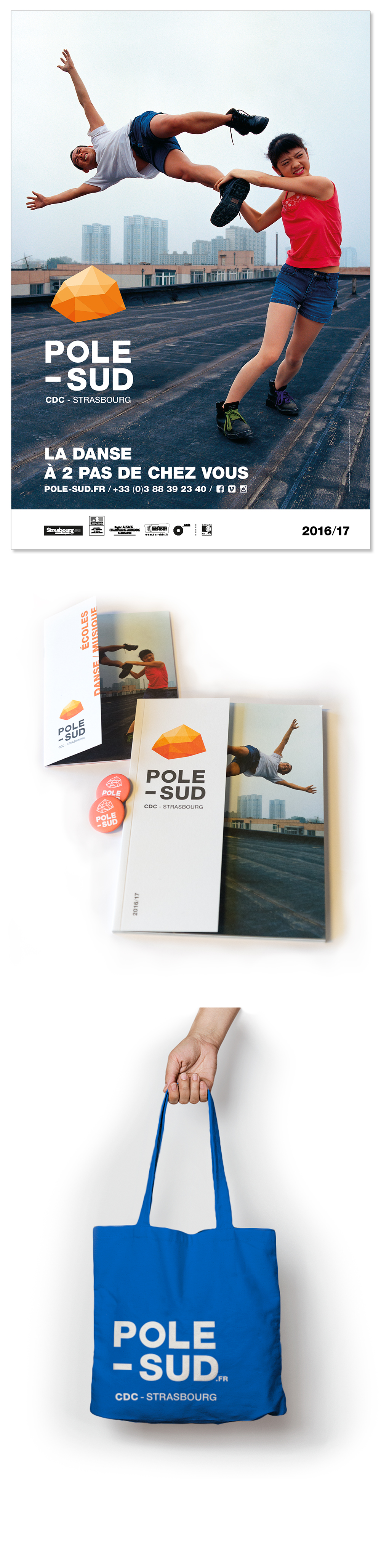 Pôle sud<em> — Brochure Saison 2016-2017</em>