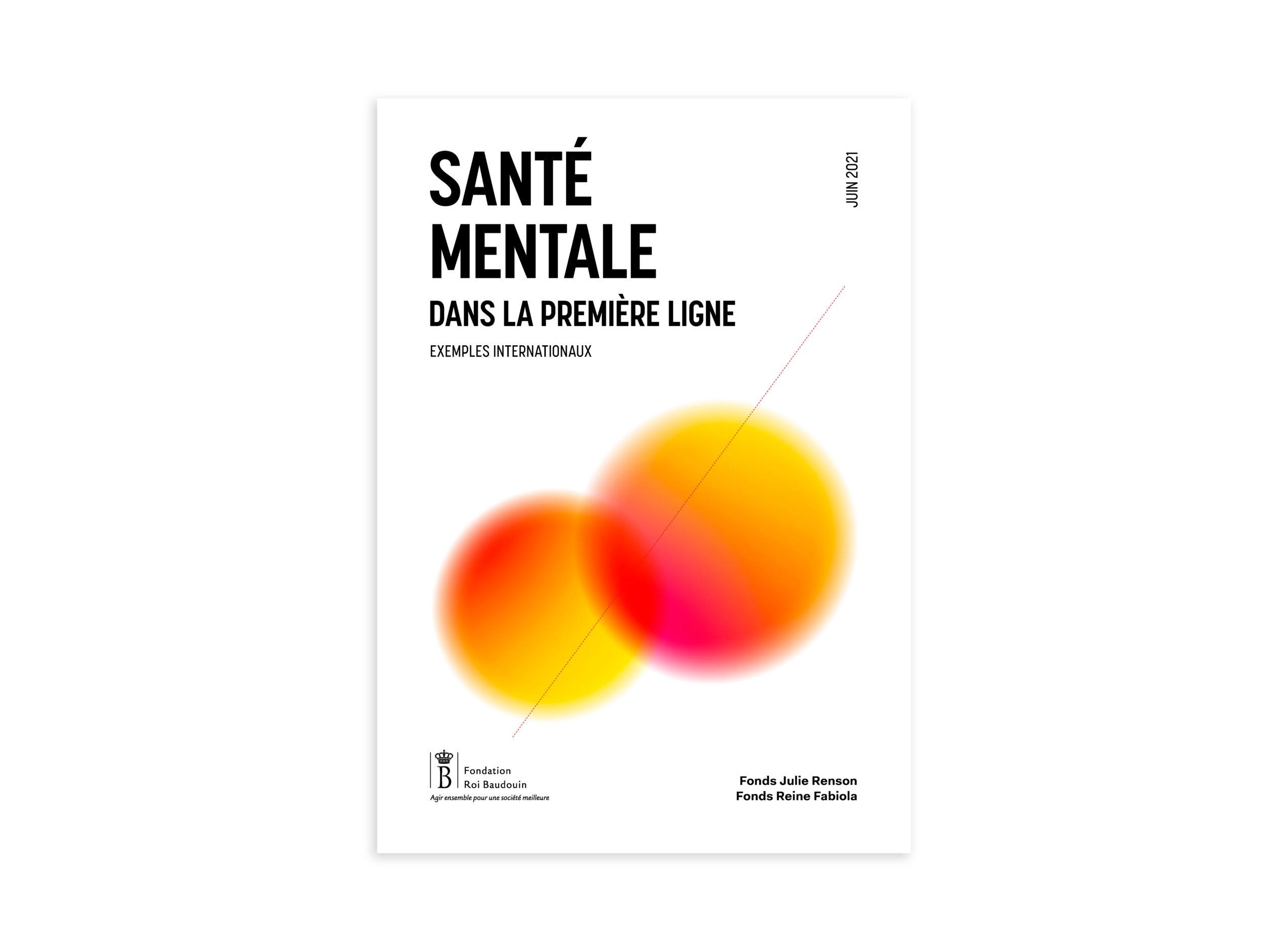 FRB Sante Mentale Brochure Cover